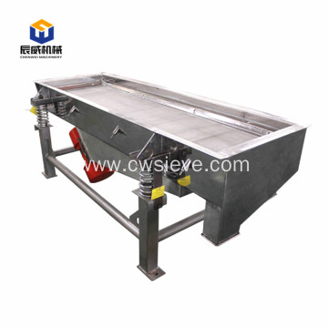 linear vibrating screen for a variety of industries