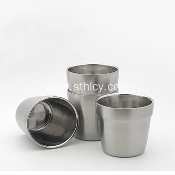 304 Stainless Steel Insulated Double Cup