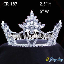 Full Round Queen Pageant Crowns