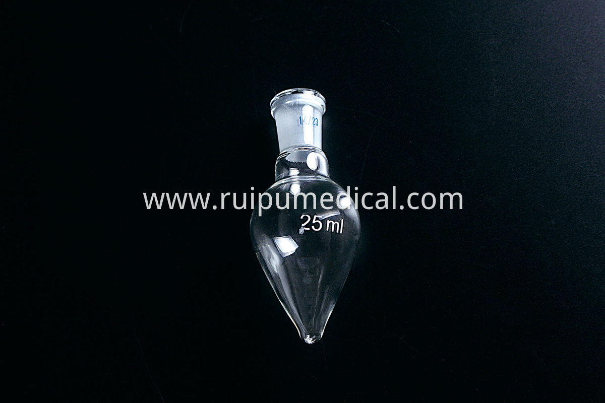 5013 Flask pear shape standard ground mouth