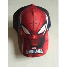 Customized for Children Printing Baseball Cap Sublimation Polyester Spiderman Baseball Cap supply to Swaziland Manufacturer
