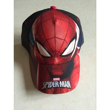 Sublimation Polyester Spiderman Baseball Cap
