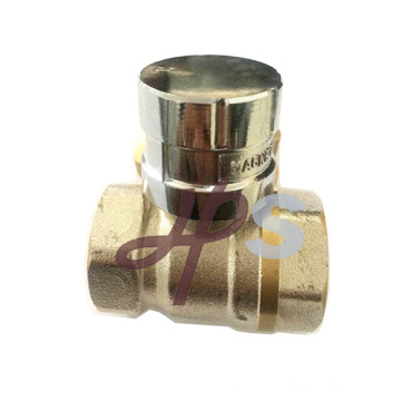 Hot forging brass magnetic lockable ball valve