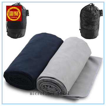 Dry Microfibre Suede Cotton Gym Towels For Women