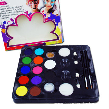 Kids Christmas Parties Makeup Paint For Face painting