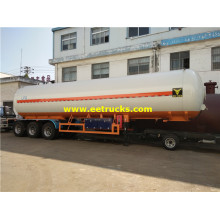 56000 Litres 24T LPG Road Tank Trailers