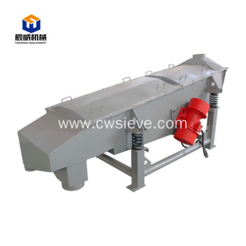 plastic linear vibrating screen with low room requirement
