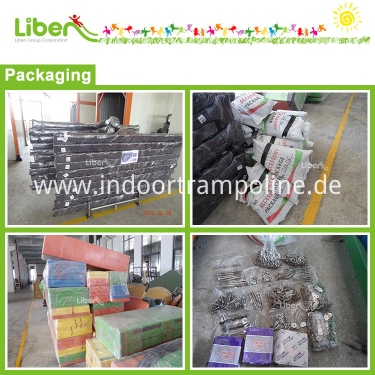 Packing of indoor trampoline park