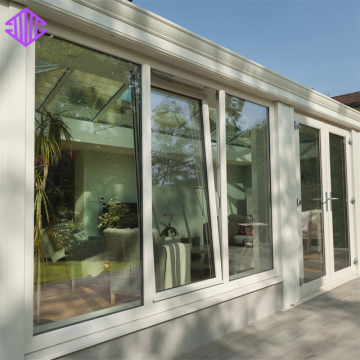 Lingyin Construction Materials Ltd New Design Aluminum Double Glazed Window Tilt And Turn Window