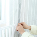 curtain with magnetic strip door screen