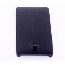 Black mobile phone plastic covers