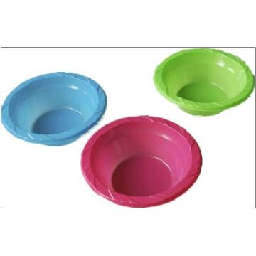 Household Disposable Round and Square Plastic Bowls