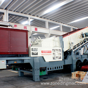 Energy Saving Mobile Rock Crushing Plant