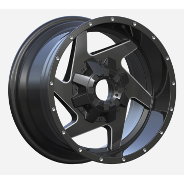 High Load SUV Wheel 17x9 Matt Black
