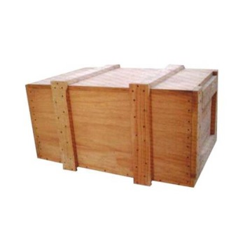 The environmentally-friendly logistic wooden boxes
