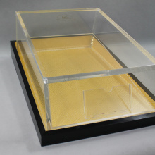 Acrylic Display Box with Black Base