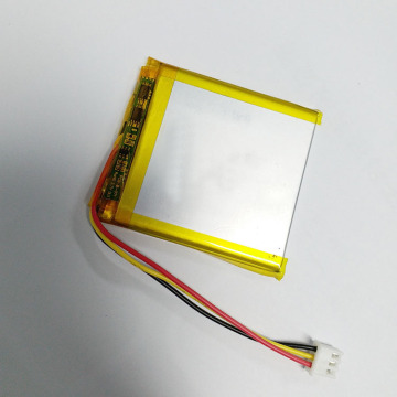 li-ion battery 3.7v 1900mAh lithium battery with wires