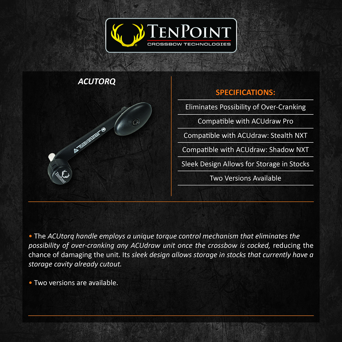 TenPoint_ACUtorq_BlackCap_Product_Description