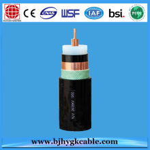 Low MOQ for Supply Quality Single Core Aluminium Conductor, Three Core Copper Conductor, 33kv Cable, 20kv Cable, 15kv Cable, 11kv Cable, 69kv Cable 6KV Copper Conductor XLPE Insulated Armoured  Cable supply to Cuba Supplier