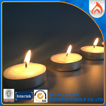 Small Unscented Wedding Tealight Candle
