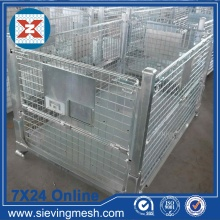 Factory directly sale for Wire Mesh Baskets Foldable Metal Storage Basket supply to Anguilla Manufacturer