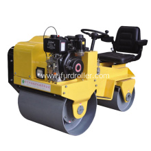 China for Manual Roller Compactor Ride-on Hydrostatic Type Double Drum Roller Compactor export to Germany Factories