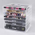 Cheap Acrylic Makeup Organizer Case with 7 Drawer