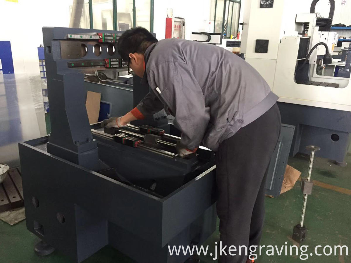 CNC High Speed Three-shaft Engraving Machinery