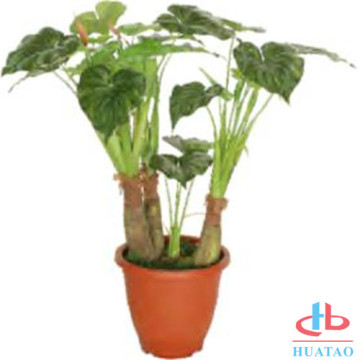 New fashion nature green artificial indoor pottedplants