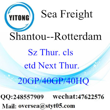 Shantou Port LCL Consolidation To Rotterdam