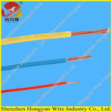 Supply for PVC Insulated Flat Electrical Cable, White Copper Pvc Wire, Pvc Insulated Copper Wire from China Supplier electrical cable  450/750V cu pvc single core export to Antigua and Barbuda Factory