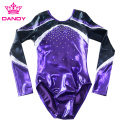 Custom Metallic Purple Gymnastics Gear