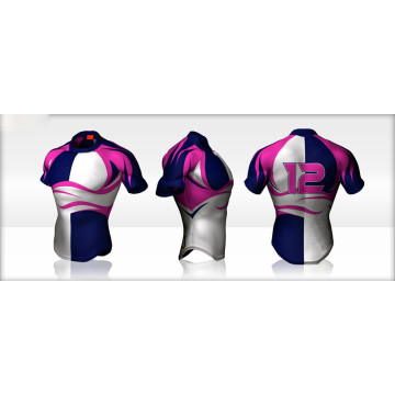 Low Cost Slim Custom Rugby Shirt