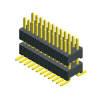 High Quality for Pin Header Connector,1.27Mm Male Header,1.27Mm Male Header Pins Manufacturers and Suppliers in China 1.27mm Pin Header Dual Row SMT Type supply to Panama Exporter