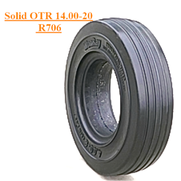 Solid OTR Tire 14.00-20 R706