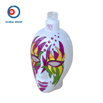 Creative Design Glass Bottle Woman Complexion