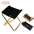 Camping Golf 7075 alumínio Folding Camp Stool Lightweight