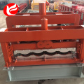 Coloured glazed tile roll forming machine