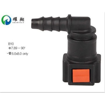 Urea Line Quick Connector 7.89(5/16)-ID6-90° SAE