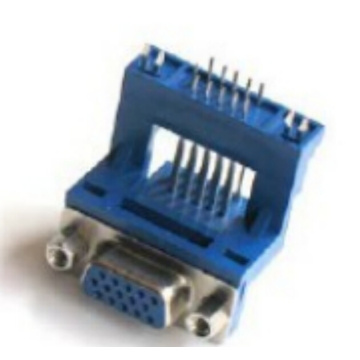 D-SUB PCB Male Dual Row Right Angle14.84mm