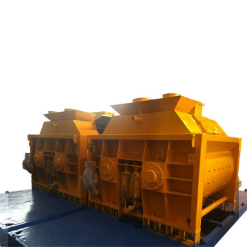 centralized front end loader concrete mixer