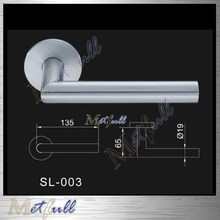 Stainless Steel Round Bar Solid Lever Handle