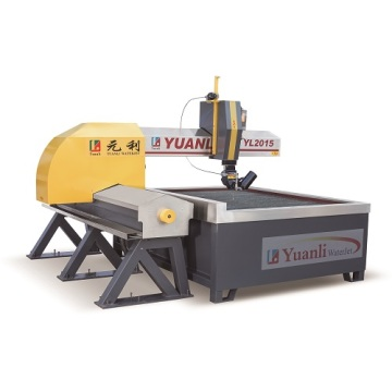 Cantilever Type 3 Axis Water Jet Cutting Machine