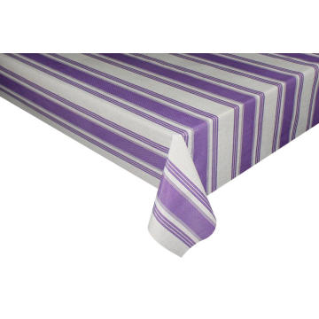 Elegant Tablecloth with Non woven backing Modern