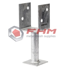 Galvanized Ground Post Anchor Concrete