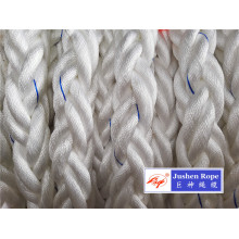 Hot Sale for for Braided Polyester Rope 8 Strand 64mm 220m Length Polyester Mooring Rope export to Bahrain Wholesale