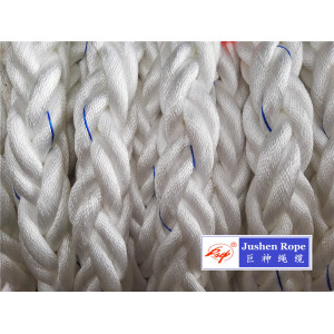 professional factory provide for Braided Polyester Rope 8 Strand 64mm 220m Length Polyester Mooring Rope supply to East Timor Suppliers