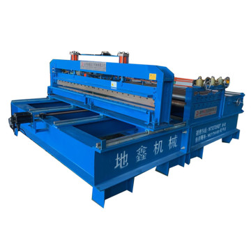 Metal flattening slitting cutting machine for coils