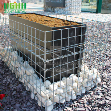 4.0mm hot-dip galvanized welding gabion net river