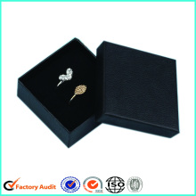 Cardboard Black Jewellery Packaging Gift Boxes